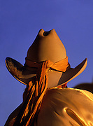 Image of a Cowgirl at the Santa Fe Rodeo, Santa Fe, New Mexico