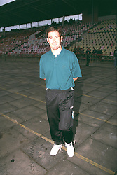 VLADIKAVKAZ, RUSSIA - Tuesday, September 12, 1995: Liverpool's Nigel Clough before the UEFA Cup 1st Round 1st Leg match against FC Alania Spartak Vladikavkaz at the Republican Spartak Stadium. (Photo by David Rawcliffe/Propaganda)