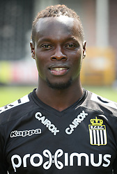 July 24, 2018 - Charleroi, BELGIUM - Charleroi's Mamadou Fall poses for photographer at the 2018-2019 season photo shoot of Belgian first league soccer team Sporting Charleroi, Tuesday 24 July 2018 in Charleroi...BELGA PHOTO VIRGINIE LEFOUR (Credit Image: © Virginie Lefour/Belga via ZUMA Press)