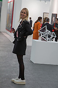 PRINCESS ELISABETH VON THURN UND TAXIS, The VIP preview of Frieze. Regent's Park. London. 16 October 2013