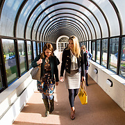 06.02.2018.         <br /> The Minister for European Affairs Helen McEntee TD will visit UL to outline the EU career opportunities open to UL graduates. <br /> <br /> Pictured during the visit were, Helen Kelly Holmes, The Minister for European Affairs Helen McEntee TD.<br /> <br /> The address is part of a special seminar arranged by EU Jobs Ireland, which will also include presentations by experts from the European Parliament and the Department of the Taoiseach. It&rsquo;s your chance to learn about the range of careers on offer in the EU, how the recruitment process works. The seminar is free and open to all UL students, graduates and staff. Picture: Alan Place