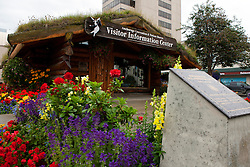 Visitor Information Center, downtown Anchorage, Alaska, United States of America