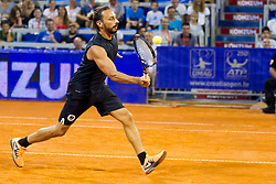 Bob Sinclar (DJ from FRA) during exhibition match at 26. Konzum Croatia Open Umag 2015, on July 22, 2015, in Umag, Croatia. Photo by Urban Urbanc / Sportida