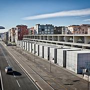 Ad otto anni dai fasti delle Olimpiadi invernali di Torinno 2006. L'ex villaggio olimpico di via Giordano Bruno mostra segni di forte degrado.