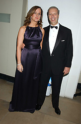 HOWARD LEIGH and his wife JENNIFER at a dinner attended by the Conservative leader Michael Howard and David Davis and David Cameron held at the Banqueting Hall, Whitehall, London on 29th November 2005.<br />