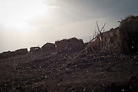 Dodom, at the base of Erta Ale volcano. Danakil Depression, Ethiopia.
