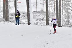 ABE Yurika, JPN, LW6 at the 2018 ParaNordic World Cup Vuokatti in Finland