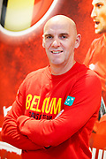Belgian captain Johan Van Herck pictured during the Belgium press conference before the Davis Cup 2017 final tennis match on November 14, 2017 at Pierre Mauroy stadium in Villeneuve-d'Ascq, near Lille, France - Photo Geoffroy Van Der Hasselt / ProSportsImages / DPPI