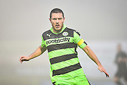 Forest Green Rovers Midfielder, Liam Noble (15) during the FA Trophy match between Forest Green Rovers and Truro City at the New Lawn, Forest Green, United Kingdom on 10 December 2016. Photo by Adam Rivers.