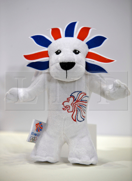 © under license to London News Pictures. The new Team GB Mascot soft toy which will be on sale during the London Olympic games. Photographer: Lee Durant. Date: 21/01/11