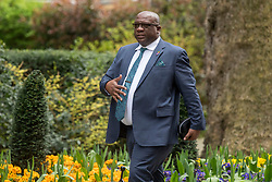 St Kitts and Nevis Prime Minister Timothy Harris arriving in Downing Street ahead of talks with Prime Minister Theresa May, Commonwealth leaders, Foreign Ministers and High Commissioners in relation to the Windrush generation immigration controversy.