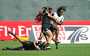 DUBAI, UNITED ARAB EMIRATES - Thursdays 30 November 2017, Zintle Mpupha of South Africa during HSBC Emirates Airline Dubai Rugby Sevens match between South Africa and New Zealand at The Sevens Stadium in Dubai.<br /> Photo by Roger Sedres/ImageSA