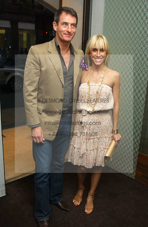 ALEXANDRA VON FURSTENBURG who is separated from her husband Austrian Prince Alexander von Furstenberg and TIM JEFFERIES at a party to celebrate the publication of 'The Russian House' by Ella Krasner held at De Beers, 50 Old Bond Street, London W1 on 9th June 2005.<br /><br />NON EXCLUSIVE - WORLD RIGHTS
