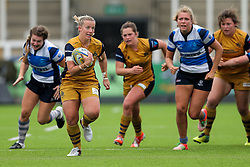 - Rogan Thomson/JMP - 08/10/2016 - RUGBY UNION - Kingston Park - Newcastle, England - Darlington Mowden Park Sharks v Bristol Ladies Rugby - RFU Women's Premiership.