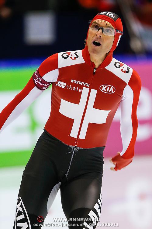 NLD/Heerenveen/20130111 - ISU Europees Kampioenschap Allround schaatsen 2013, 500 meter, Martin Hinggi
