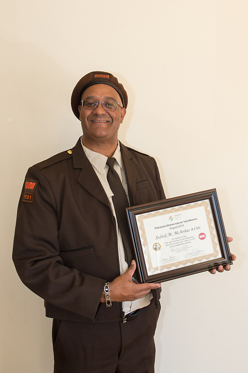 Sedrick McArthur, Presidio Division Operator of the Month for August | August 5, 2015