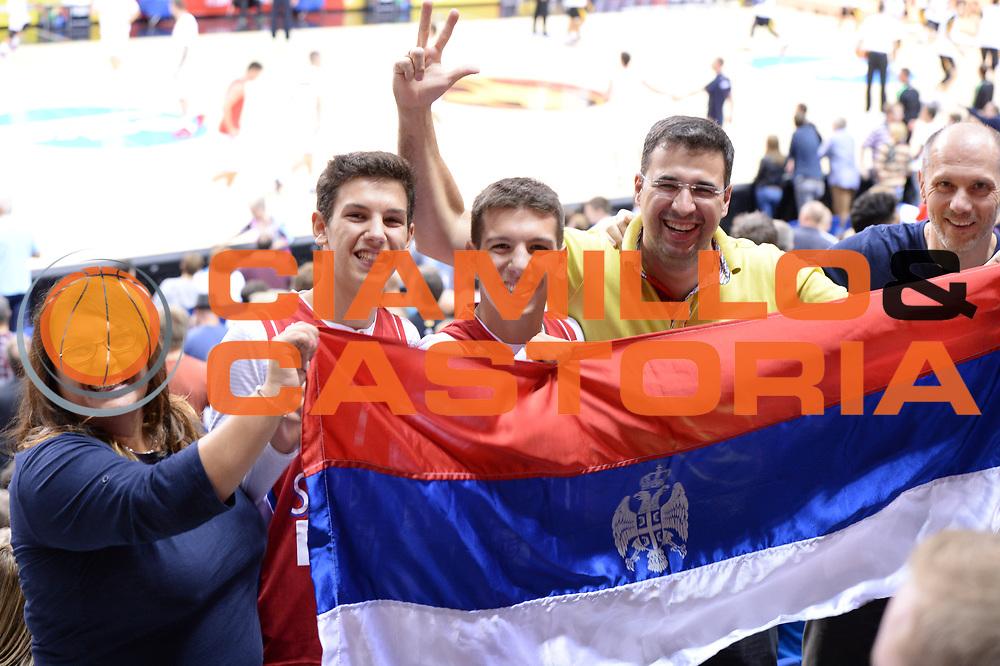 DESCRIZIONE : Berlino Berlin Eurobasket 2015 Group B Serbia Germany<br /> GIOCATORE : <br /> CATEGORIA : Serbia Pubblico<br /> SQUADRA : Serbia<br /> EVENTO : Eurobasket 2015 Group B<br /> GARA : Serbia Germany<br /> DATA : 05/09/2015<br /> SPORT : Pallacanestro<br /> AUTORE : Agenzia Ciamillo-Castoria/M.Longo<br /> Galleria : Eurobasket 2015<br /> Fotonotizia : Berlino Berlin Eurobasket 2015 Group B Serbia Germany