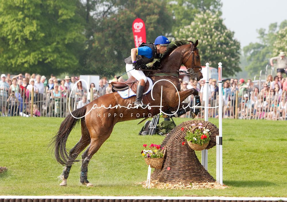 Van Springel Joris (BEL) - Lully des Aulnes<br /> CIC4* Badminton 2011<br /> &copy; Hippo Foto - Cealy Tetly