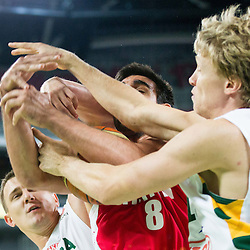 20140822: SLO, Basketball - Telemach Tournament, Lithuania vs Iran