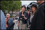 JULIETTE BINOCHE, Qatar Prix de L'Arc de Triomph. Longchamp. Paris. 5 October 2014.