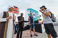 DUQUE Orlando COL Colombia<br /> FINA High Diving World Cup 2016<br /> Abu Dhabi Sailing and Yacht Club <br /> Corniche Breakwater -Abu Dhabi - U.A.E.<br /> Day0  26 Feb.2016<br /> Photo G.Scala/Insidefoto/Deepbluemedia
