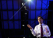 © Licensed to London News Pictures. 03/10/2012. Manchester, UK Ed Miliband takes part in a question and answer session on Day 4 at The Labour Party Conference at Manchester Central today 3rd october 2012. Photo credit : Stephen Simpson/LNP