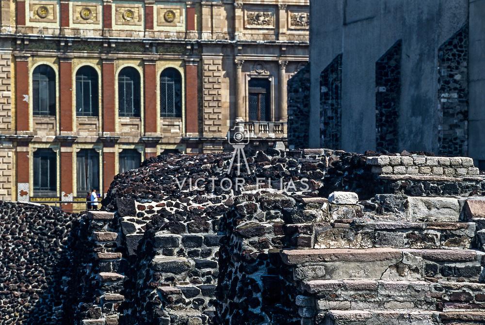 Templo Mayor in Mexico city.