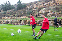 ESTEPONA - 04-01-2016, AZ in Spanje 4 januari, Assistent trainer Dennis Haar, AZ trainer John van den Brom