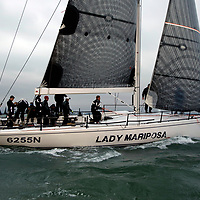 2017, July 1, Round the island Race, Round the Island Race, UK, Isle of Wight, Cowes, Lady Mariposa,