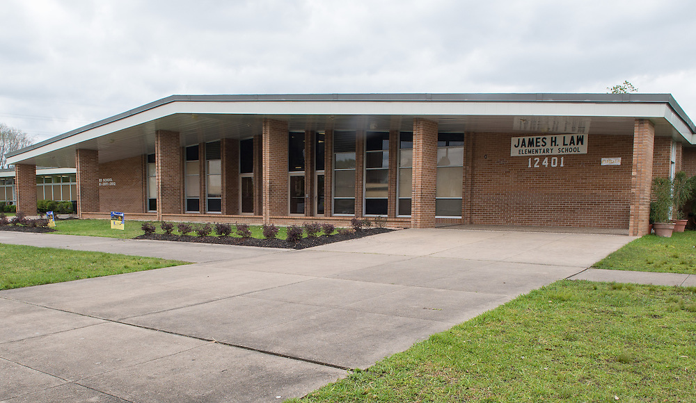James H. Law Elementary School photographed April 5, 2013. The school was a recipient of funds from the 2007 Bond.
