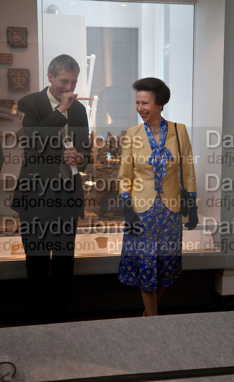 MARK JONES; THE PRINCESS ROYAL, Opening of the V. and A.'s New Ceramics Galleries by the Princess Royal. V. & A. London. 16 September 2009