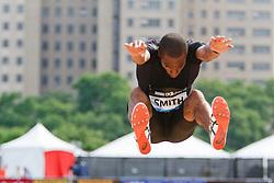 Samsung Diamond League adidas Grand Prix track & field; men's long jump, Tyrone Smith, USA,