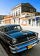 Old American car in Cardenas, Matanzas, Cuba.
