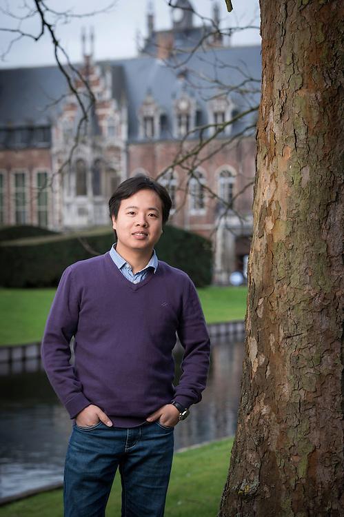 Leuven, Belgium 28 January 2014<br /> Researcher Hai Hoang Nguyen.<br /> Photo: Ezequiel Scagnetti