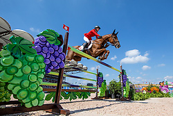 BLUM Simone (GER), DSP Alice<br /> Tryon - FEI World Equestrian Games™ 2018<br /> FEI World Team Championships<br /> 2. Qualifikation Teamwertung 2. Runde<br /> 21. September 2018<br /> © www.sportfotos-lafrentz.de/Stefan Lafrentz