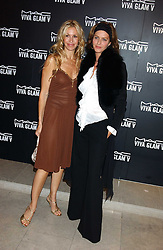 Left to right, MELISSA ODABASH and TRINNY WOODALL at a cocktail party hosted by MAC cosmetics to kick off London Fashion Week at The Hospital, 22 Endell Street London on 18th September 2005.At the event, top model Linda Evangelista presented Ken Livingston the Lord Mayor of London with a cheque for £100,000 in aid of the Loomba Trust that aims to privide education to orphaned children through a natural disaster or through HIV/AIDS.<br />