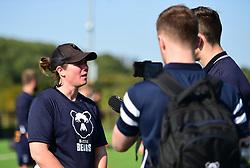 Bristol Bears Women head coach Kim Oliver - Mandatory by-line: Alex James/JMP - 21/09/2019 - RUGBY - Shaftesbury Park - Bristol, England - Bristol Bears Women v Saracens Women - Tyrrells Premier 15s