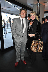 THEO & LOUISE FENNELL at the launch of One Hyde Park, The Residences at Mandarin Oriental, Knightsbridge, London on 19th January 2011.