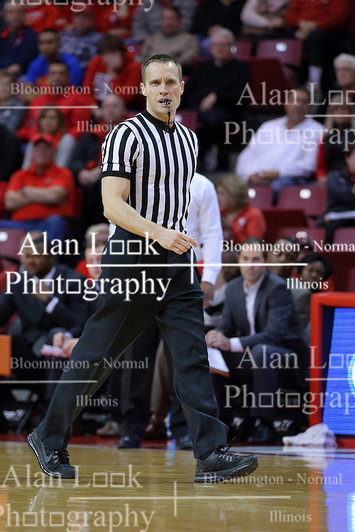 26 November 2016:  .K B. Burdett Jr. during an NCAA  mens basketball game between the IUPUI Jaguars the Illinois State Redbirds in a non-conference game at Redbird Arena, Normal IL