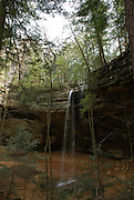 Waterfall at Ash Cave, Hocking Hills