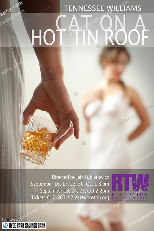 Cat on a Hot Tin Roof Poster Shoot.Jordan Sobel.Jess Moss.mua Catherine Monitz.Wardrobe Becky Holland