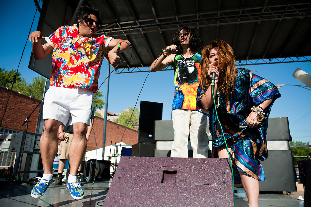 Bonde Do Rolê at the Mad Decent Block Party