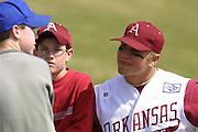 Arkansas vs Alabama  BASEBALL  March 22, 23University of Arkansas Razorback Baseball Team action photography during the 2001-2002 season.