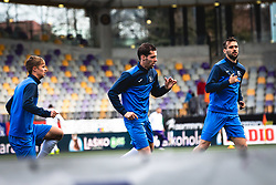 Players of NK Bravo during warmup before football match between NK Maribor and NK Bravo in 25th Round of Prva liga Telekom Slovenije 2019/20, on March 7, 2020 in Ljudski vrt, Maribor, Slovenia. Photo by Blaž Weindorfer / Sportida