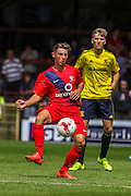 Callum Rzonca during the Friendly match between York City and Middlesbrough at Bootham Crescent, York, England on 11 July 2015. Photo by Simon Davies.