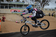#741 (LOCKWOOD Erin) AUS at Round 3 of the 2020 UCI BMX Supercross World Cup in Bathurst, Australia.