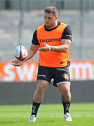 Danny Southworth of Exeter Braves warms up- Mandatory by-line: Nizaam Jones/JMP - 22/04/2019 - RUGBY - Sandy Park Stadium - Exeter, England - Exeter Braves v Saracens Storm - Premiership Rugby Shield