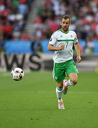 Niall McGinn of Northern Ireland  - Mandatory by-line: Joe Meredith/JMP - 25/06/2016 - FOOTBALL - Parc des Princes - Paris, France - Wales v Northern Ireland - UEFA European Championship Round of 16