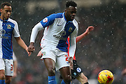 Blackburn Rovers midfielder, Hope Akpan (21) during the Sky Bet Championship match between Blackburn Rovers and Brighton and Hove Albion at Ewood Park, Blackburn, England on 16 January 2016.