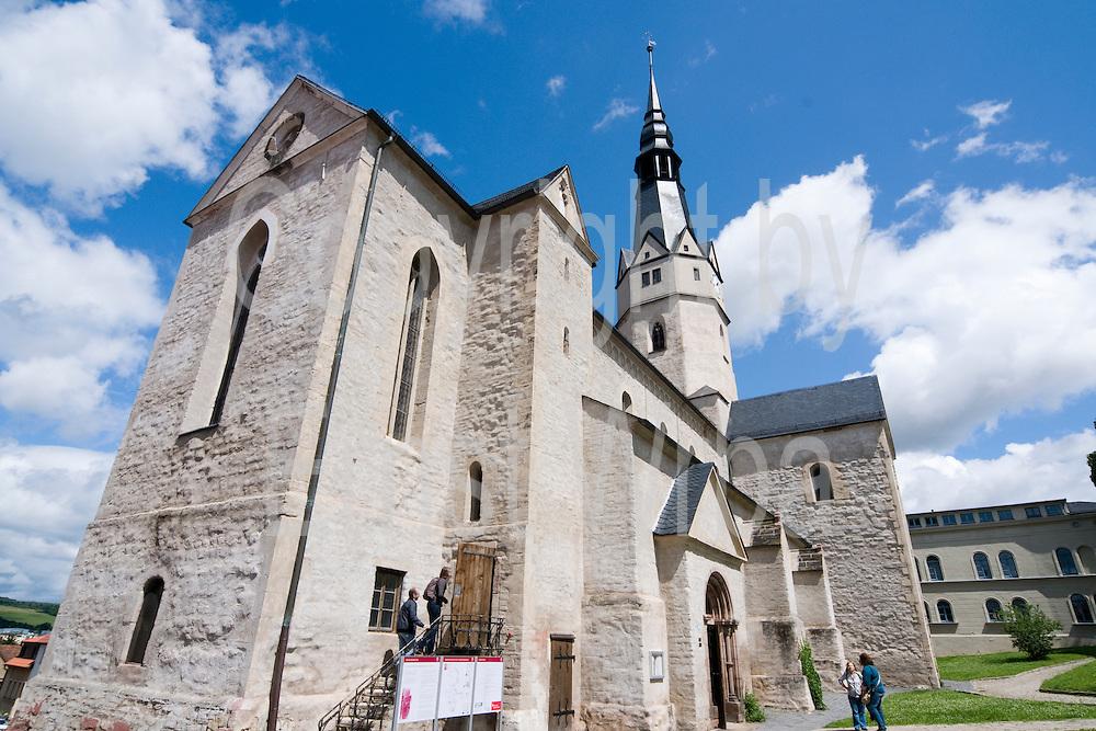 romanische St. Ulrichkirche, Straße der Romanik, Sangerhausen, Harz, Sachsen-Anhalt, Deutschland | romanic St. Ulrich church, Sangerhausen, Harz, Saxony-Anhalt, Germany